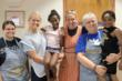 Sister Fran Gorsuch and three volunteers enjoy being 'good help' to those in need.